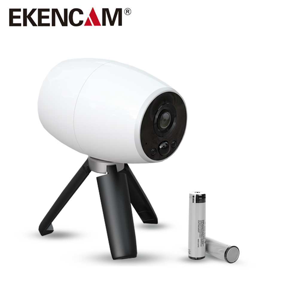 EKENCAM EK99 1080p Full HD Wireless Waterproof Camera Indoor Security WiFi IP Cam with Wire-Free Battery Outdoor mini Camcorder