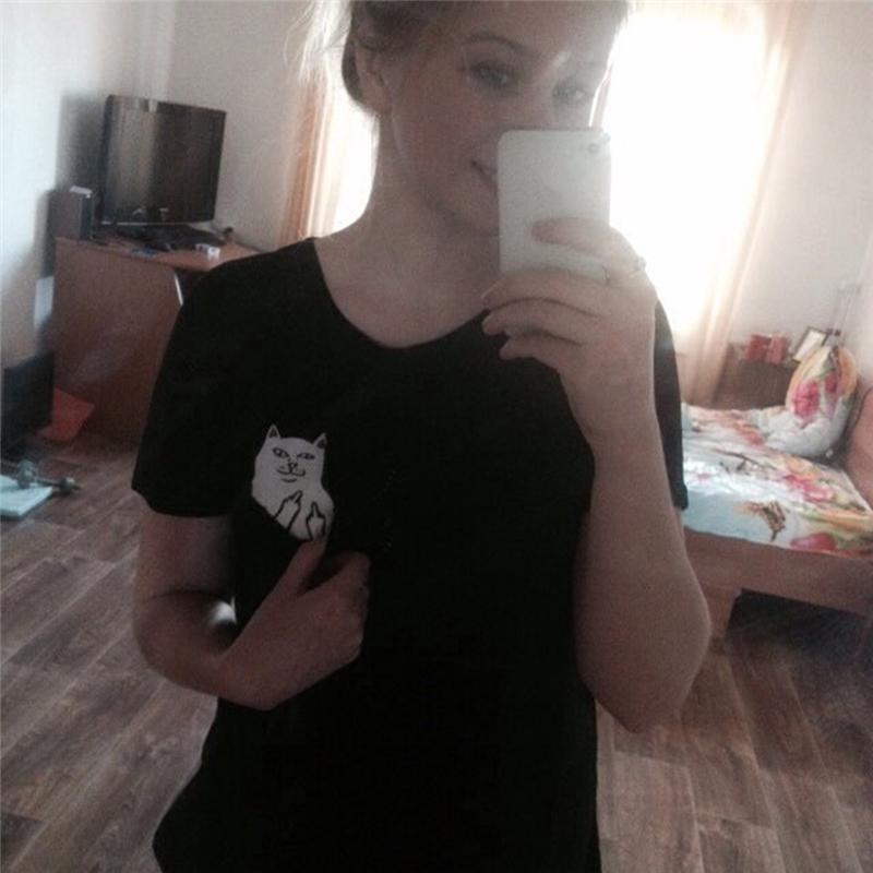 HTB1c0VfQpXXXXahaXXXq6xXFXXXP - Pocket Cat T-shirt