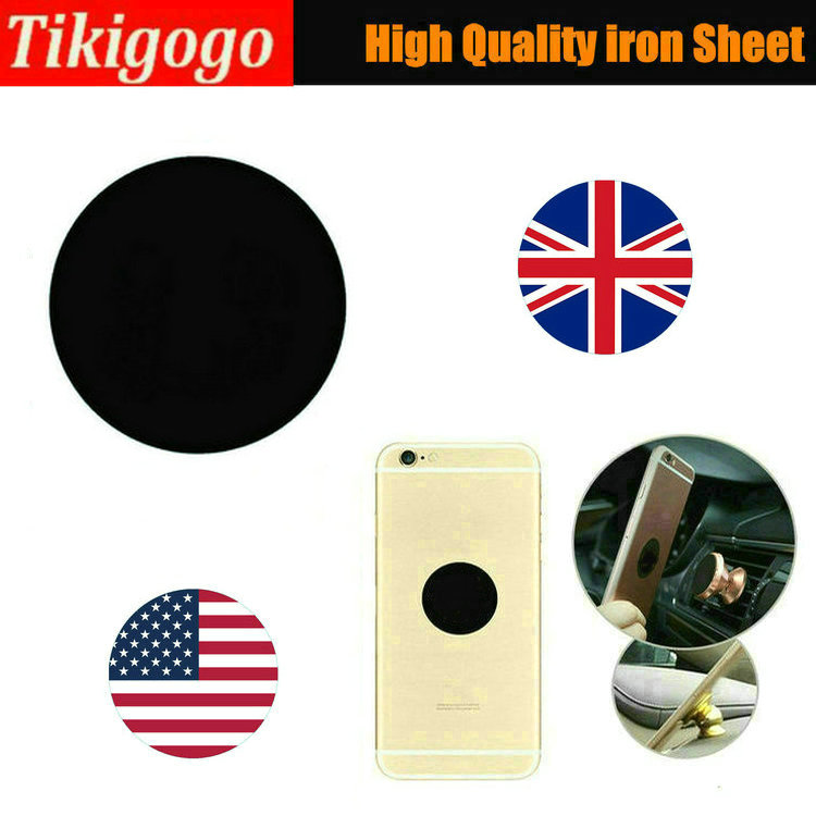 High Quality 3cm Diameter US UK Flag Matte iron Sheet