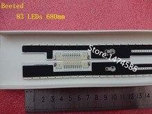 Tira de retroiluminación LED para Samsung UE55F8000, UN55F7100, UN55F7050, UN55F7450, UN55F7500, BN96 25447A, 25448A, BN96 29657A, 29658A, 2 uds.