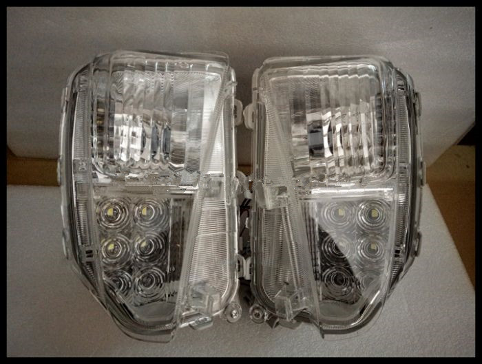 Qirun Front bumper light Front fog lamp for Toyota pruis 2012