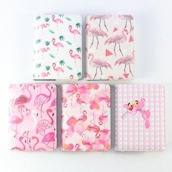 Domikee 2020 lindo A6 de dibujos animados flamingl de tiempo del programa organizador planificador cuadernos dulces kawaii chica planeador diario semanal