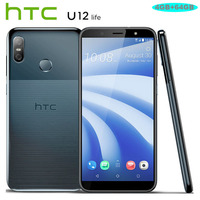 NEW HTC U12 Life 4G LTE Mobile Phone 6.0 inch Snapdragon 636 OctaCore 4GB RAM 64GB ROM 16MP+5MP Camera Android 8.1 Smart Phone