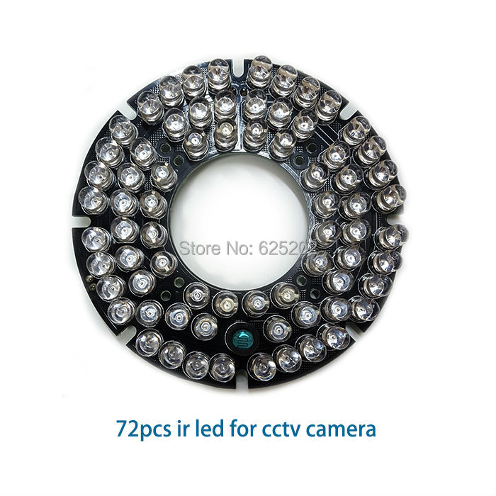 High quality 72pcs IR leds for cctv camera with long distance