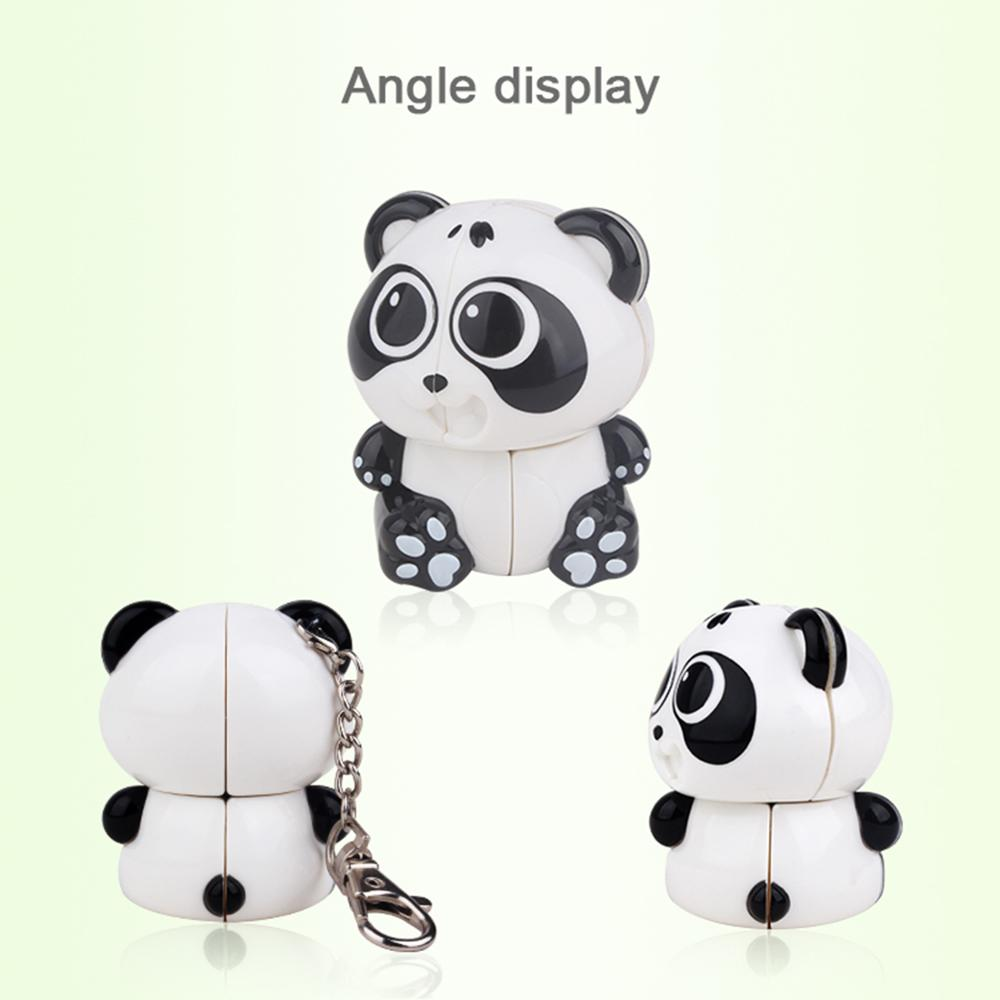 2019 New Arrivals Yuxin Panda 2x2 Keychain Magic Cube Early Educational Toy New Toys For Kids Children New Cube
