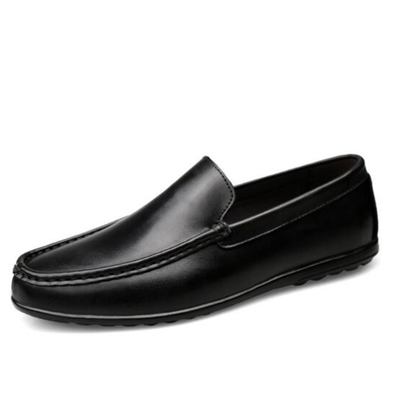 남성 봄 가을 착용 Breathable Non-slip Lopper Shoes, Aquare Toe - 남성용 신발