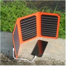 Tragbare 16 Watt solarbereich Ultra-thinl 5 V solar-ladegerät für energienbank smartwatch smartphone