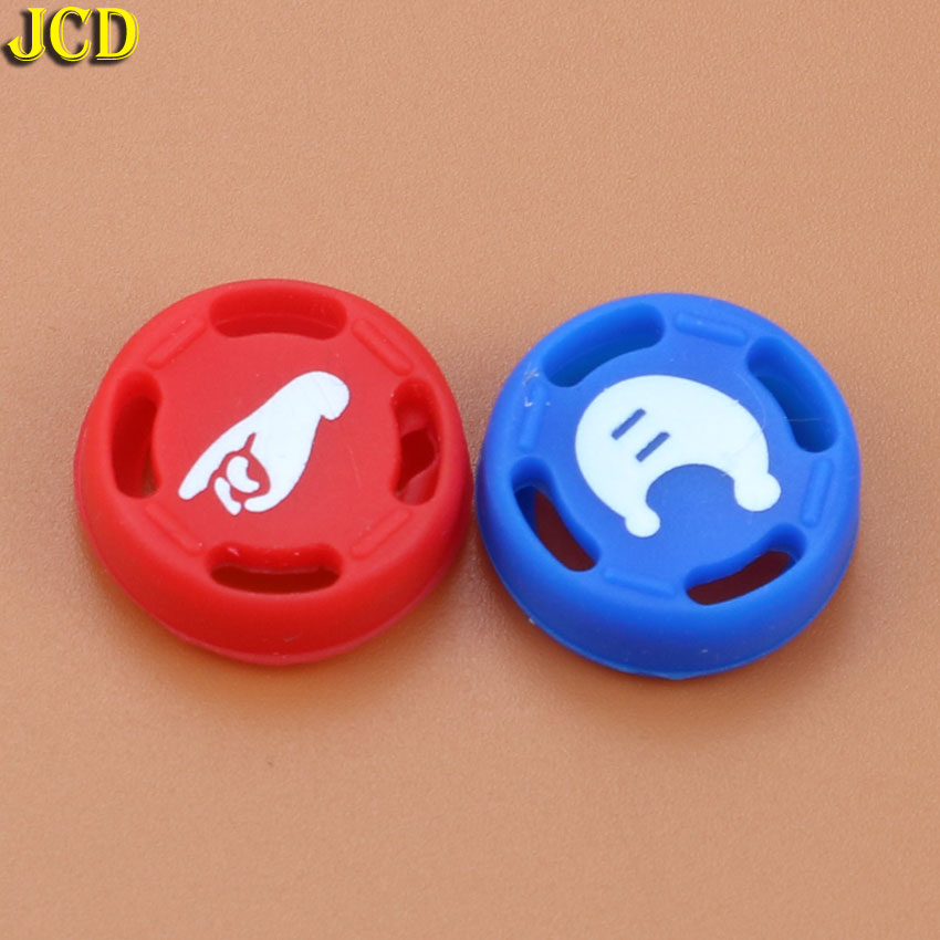 Image 5 - JCD 2pcs Silicone Analog Joystick Stick Grips Caps For Nintend Switch NS JoyCon Controller Joystick Cover for Joy Con-in Replacement Parts & Accessories from Consumer Electronics
