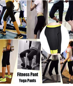 Image 5 - NINGMI Long Sauna Pants Neoprene Legging Control Panties Fitness Bodyshape Shaper Slim Super Stretch Capris Trouser Pant Women