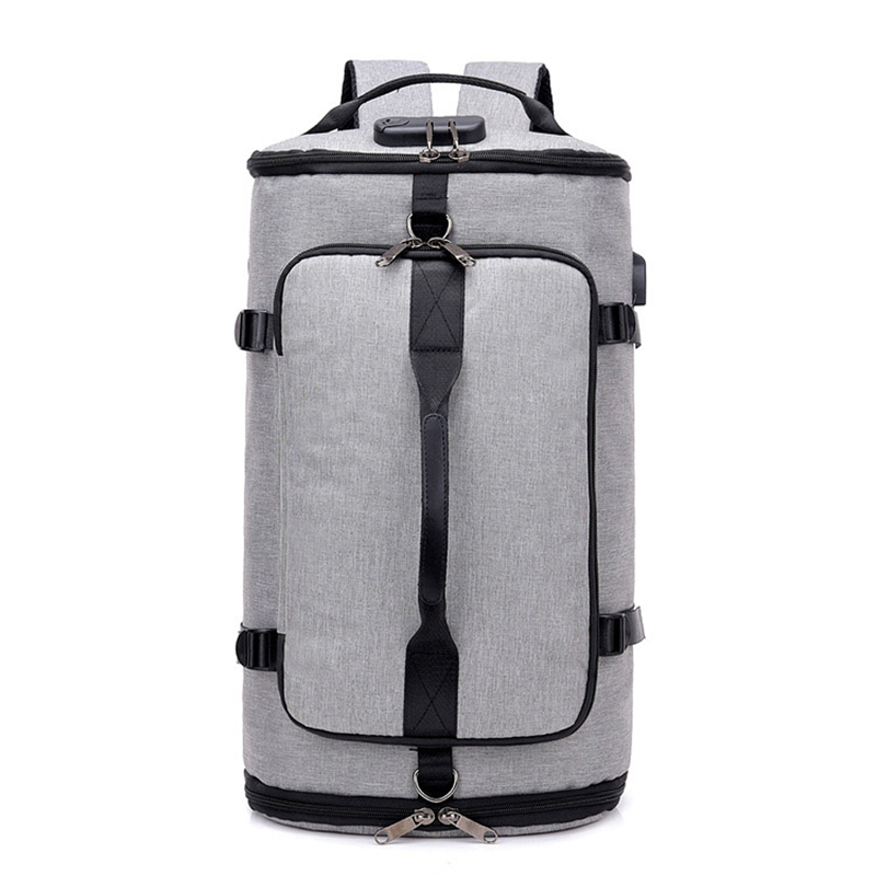 OZUKO Large Capacity Multifunctional Waterproof Men Backapck USB Charge Laptop Backpack Fashion Travel Bag for Boy