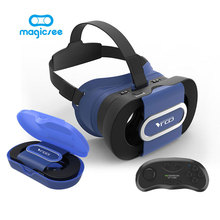 RITECH VR GO Mini Folding VR Glasses + Bluetooth Controller for 4.7-6.0 Smartphone