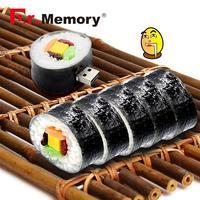 El dr. Memoria Pen con diseño Sushi disco USB Flash Drive 8GB USB Flash USB de descargar Memoria U disco de alta velocidad 16GB USB de dibujos animados 2,0 Pendrive de almacenamiento