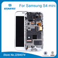 Spare Parts For Samsung Galaxy S4 mini I9190 i9192 i9195 i9190 duos LCD Display Touch Screen Frame Assembly Black White Blue