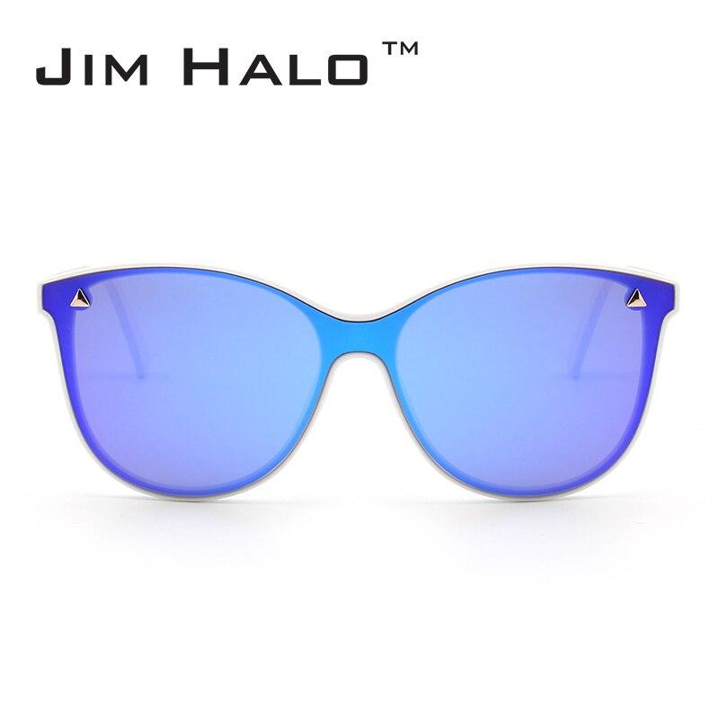 88f5ee2cb3 Aliexpress.com: Comprar Jim halo una pieza Objetivos remache cuerno borde  plano espejo Gafas de sol mujeres hombres integrado gafas diseño de marca  moda Sol ...