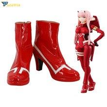 Darling In The Franxx Cosplay Ichigo Hiro Zero Two Shoes 002 Boots the darling strumpet