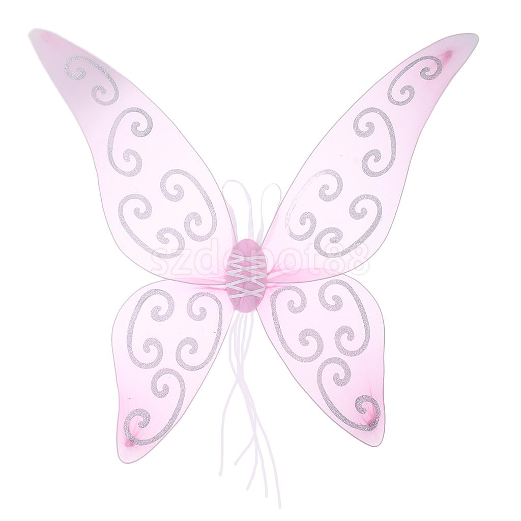 Infant Baby Angel Feather Wings Cupid Fairy Photo Props Fancy Costume BL