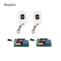 Home 220V 10A Relay 1CH 315MHz Wireless 2 2 Key Smart Remote Switch Transmitter 2 Receiver