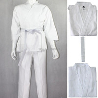 Top Quality Kimono Jiu Jitsu 100 Cotton Judo Clothes White Standard Martial Arts Uniform Present A