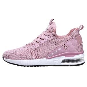 Image 3 - Hemmyi çift Sneakers ayakkabı örgü nefes Chaussure Homme İlkbahar/sonbahar erkek ayakkabısı hava yastığı boyutu 36 45 destek Dropshipping
