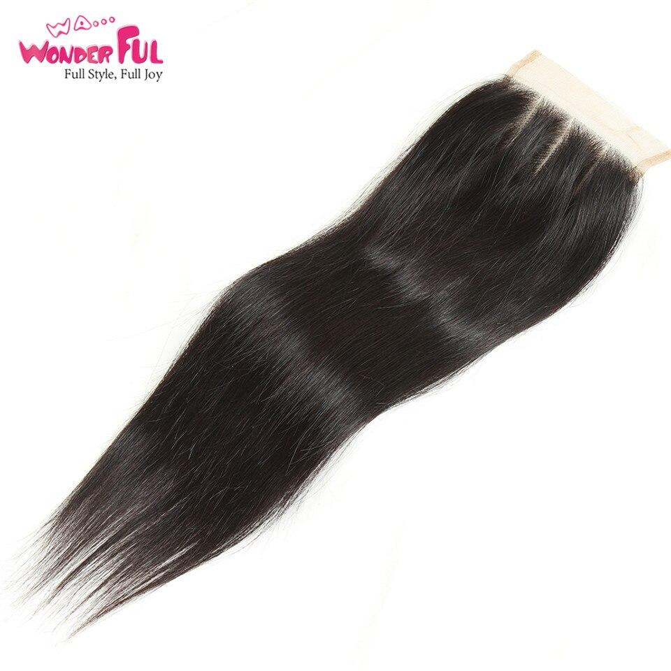 Joedir Hair-brasilianska hårvävsknippen med stängning, rakt hår - Skönhet och hälsa - Foto 4