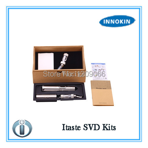 ФОТО Innokin iTaste SVD Starter Kit Stainless Steel Tube Variable Voltage Wattage with Innokin Iclear 30 Atomizer