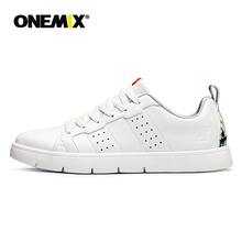 ONEMIX 2019 Men Casual Shoes Lightweight  Women White Platform Sneakers zapatillas mujer цена