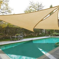 Sun Shelter Sun Shade Protection Outdoor Canopy Garden Patio Pool Shade Sail Awning Camping Picnic Tent