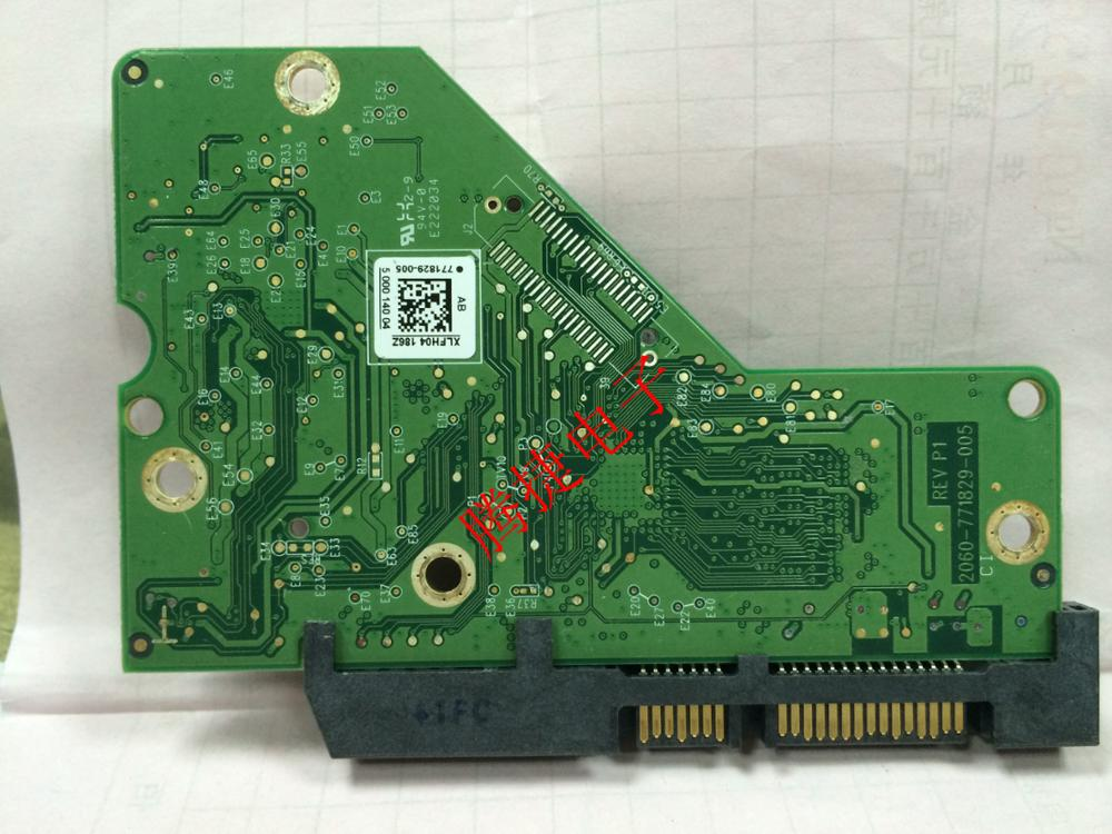 HDD PCB Circuit Board Logic Board Printed Circuit Board 2060-771829-005 For WD 3.5 SATA Hard Drive Repair Data Recovery