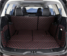 Special Trunk Mats For Ford Edge Seats   Waterproof Cargo Liner Boot Carpets For Edge Free Shipping