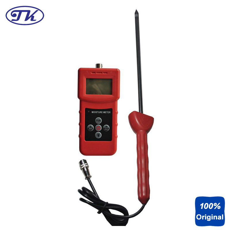 MS350A High Frequency Chemical Industry Moisture Meter Tester Soil Moisture Meter