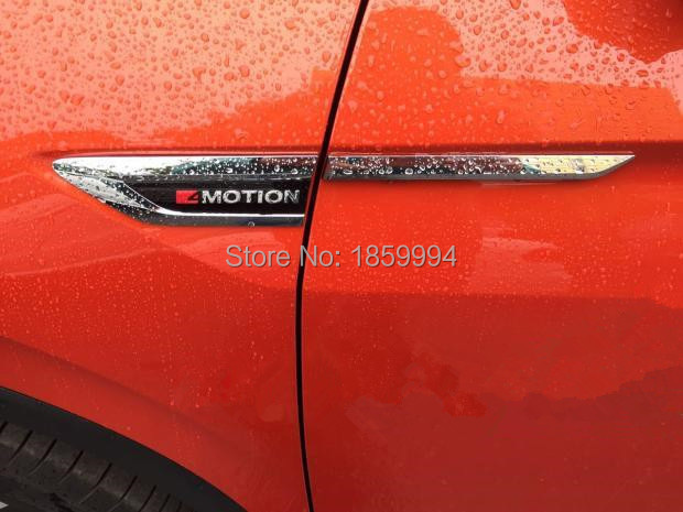 for 2016 2017 VW Tiguan mk2 4 Motion 4Motion 4X4 Side Wing Fender Emblem Badge sticker Trim original