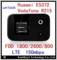 Desbloqueado lte 150 mbps huawei e5372 4g lte wifi router lte 4g dongle 4g mifi fdd 800 e5372s-32 vodafone r215 pk e5776 e5375 e589