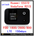 unlocked lte 150Mbps Huawei E5372 4G LTE wifi router lte 4g mIFI dongle 4g fdd 800 e5372s-32 Vodafone R215 pk e5776 e5375 e589