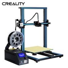 Широкоформатная печать Размеры CR-10 Creality 3D-принтеры металлический 300*300*400 мм CR-10 принтер Плюс печать Размеры 3d Stampante DIY Kit