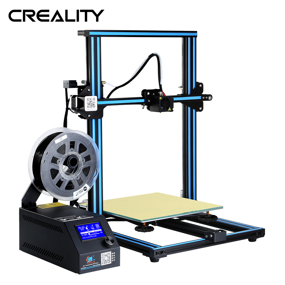 Large Printing Size CR-10S Creality 3D Printer Full Metal 300*300*400MM CR-10S Printer Plus Printing Size 3D Stampante DIY Kit