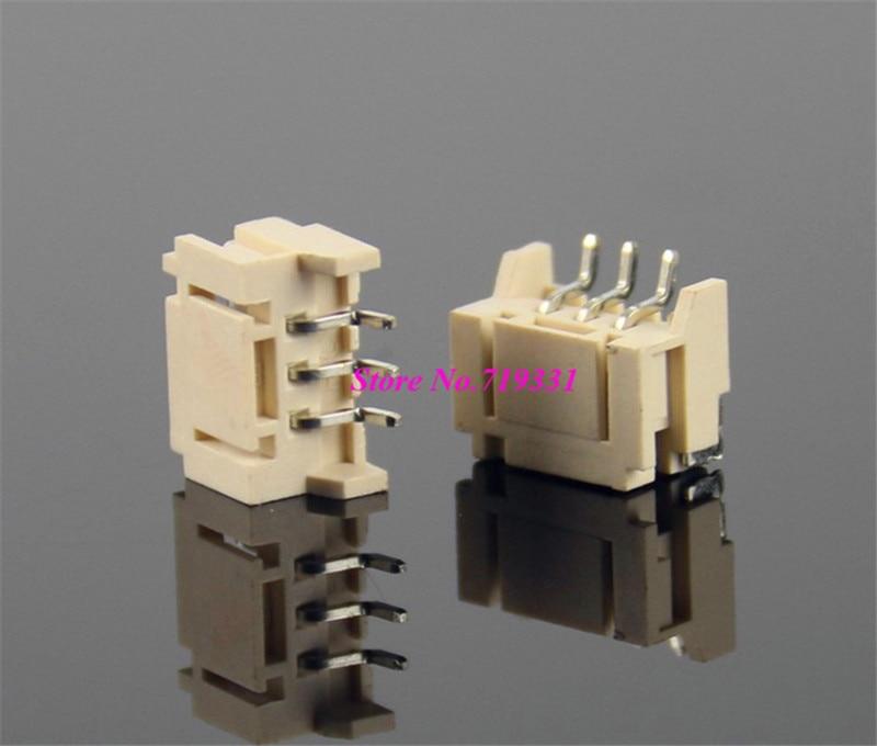 100pcs JST 2.0mm Horizontal Male Connector Wafer SMD Socket 2.0mm Plug Pitch Pin Header Heat Resistance 2p 3p 4pin 6p 14p jst xh2 54 2 3 4 5 6 78 9 10 pin connector plug male female crimps x 50sets