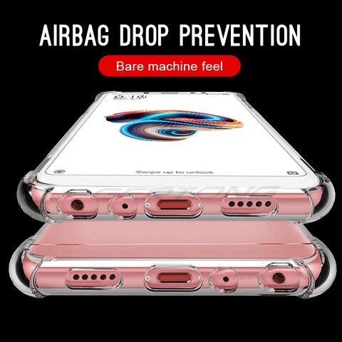 Transparent Cover Coque Case For Xiaomi Pocophone F1 Cases For Xiaomi Redmi Note 6 Pro 5 6A 5 Plus Shockproof Bags Shell Karachi