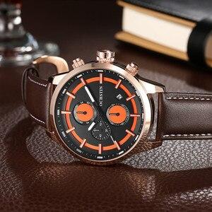 Image 5 - OCHSTIN กีฬานาฬิกาผู้ชายแฟชั่น Casual Chronograph Chronograph นาฬิกาผู้ชายกีฬาชายนาฬิกาควอตซ์ชายนาฬิกานาฬิกาสีเหลือง face