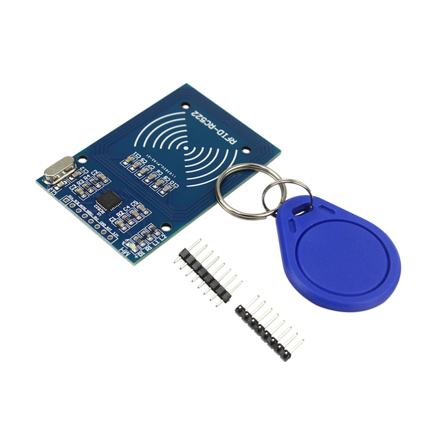 RFID RC522 13.56 Mhz 6cm Module with Tags SPI Write & Read