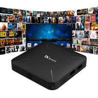 NEW TX3 MINI NO LED Smart TV BOX Android 7.1 4k S905W Quad-core Cortex-A53 Mali-450MP5 2.4G Wireless WIFI set top box pk tx3mini