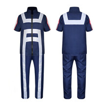 цены на My Hero Academia Boku No Hero Akademia High School Izuku Midoriya Deku Katsuki Bakugou Tenya Iida School Uniform Cosplay Costume  в интернет-магазинах