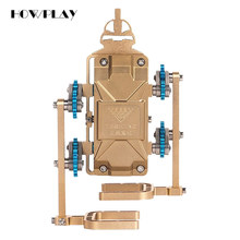 HowPlay Walking robot Metal Assembly Model Smartphone Remote Control Mechanical Assembly Adult Toys Children s Educational