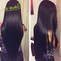 Ali Gracia Hair Products Malasia Cabello Liso 3 Bundles/lot 100% Sin Procesar Pelo Malasio de la Virgen Recta Armadura Del Pelo Humano