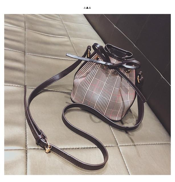 31c1e25d5e Classic Women Canvas Bucket Bag NANO NOE cross body Bag 41346-in Top ...
