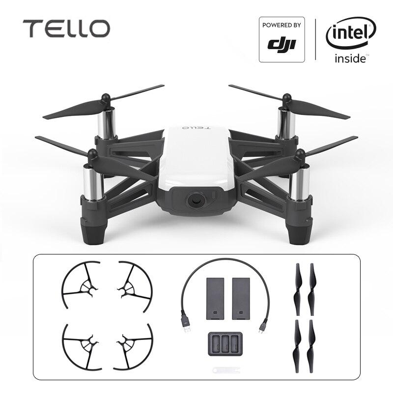 DJI Тельо Boost комбо Drone Райз мини игрушка Drone с кодирования образование 720P HD Трансмиссия квадрокоптера FPV дистанционного Управление