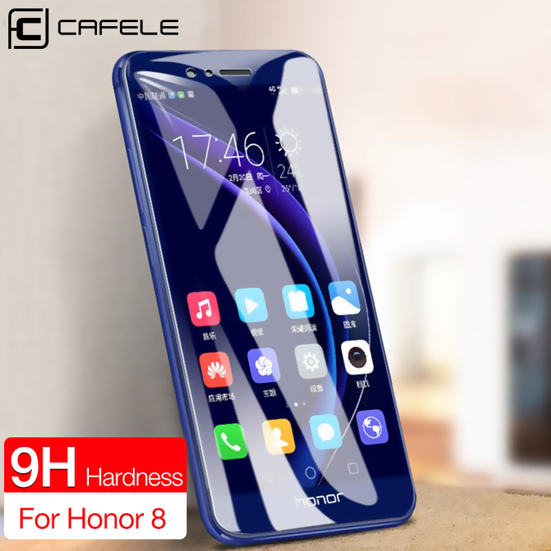 CAFELE Screen Protector For Huawei P30 20 Honor 8 9 10 20 Nova 5 Pro HD Clear Ultra Thin Tempered Glass Protective Phone Film