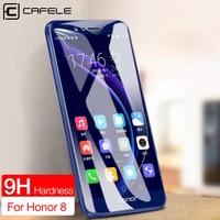 CAFELE-Protector de pantalla para Huawei P40, P30, P20 Pro, Nova 6, Honor 9, V30 pro, HD, cristal templado transparente, ultrafino