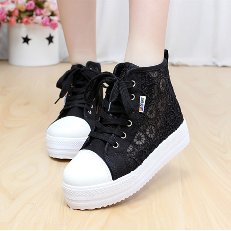 Summer Women Shoes Casual Cutouts Lace Canvas Shoes Hollow Floral Breathable Flat Platform Shoe Ladies sapato feminino 2017 summer women shoes casual cutouts lace canvas shoes hollow floral breathable platform flat shoe sapato feminino