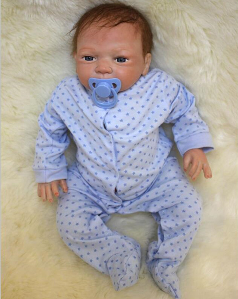 NPKDOLL 45cm Doll Silicone Reborn Handmade Realistic Baby Dolls 18 Inch Vinyl Bebe Reborn Realistic Babies Toys Juguetes Gifts npkdoll bebe reborn baby doll realistic soft silicone reborn babies juguetes girl 22 inch 55cm adorable kids brinquedos toy