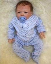 45cm Fashion Boneca Reborn Dolls 18inch Doll Silicone Baby-Reborn Including Clothing Gifts Juguetes Brinquedos